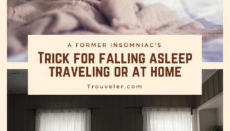 How I fall asleep easier when traveling despite being a former insomniac