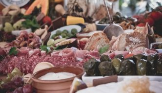 A delicious looking table full of authentic Spanish foods